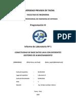 Conexion BD MYSQL - Luis Pinto