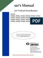 Labconco-3938101 Rev c Purifier Vertical Clean Benches