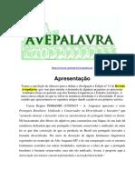 Revista Ave Palavra