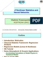 Nonlinear Statistics and NNs