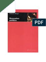 Negri Antonio - Descartes Politico
