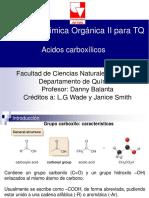Ácidos carboxílicos