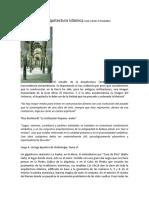 Elementos de Arquitectura Islámica José Carlos Fernández