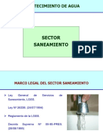 Sector Saneamiento