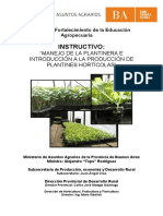 Instructivo Manejo de Plantinera