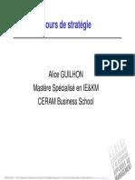 Cours Stratégie Alice Guilhon