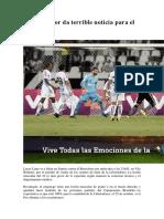 Otro Jugador Da Terrible Noticia Para El Santos F