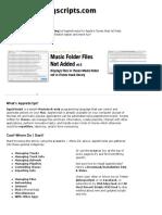 Doug's AppleScripts for ITunes » Dougscripts.com
