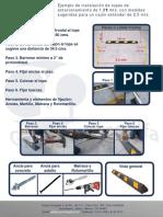 Manual de Instalacion de Tope de Estacionamiento 183cms