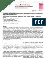 Eficacia de La Fisioterapia en Pacientes Con Gonartrosis En
