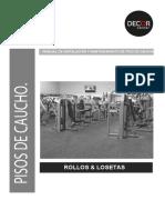 Garantía e Manual de Instalacion de Piso de Caucho