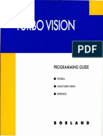 Turbo Vision Version 2.0 Programming Guide 1992