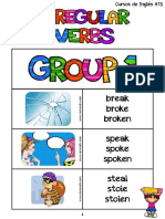 List of Irregular Verbs