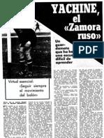 Yashin, El Zamora Ruso
