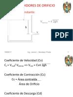 CLASE II  MEDIDORES DE ORIFICIO y descarga.ppt