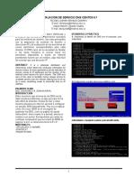 Configuracion DNS Linux Ieee