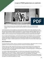 Politica.elpais.com-La CIA Apostaba Por Que El PSOE Gobernara en Coalición en 1982