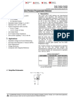 TL431 Precision Voltage Programmable Reference