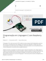 Programação Em Linguagem C Com Raspberry Pi - FilipeFlop