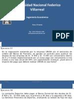 Ing Economica - S7 - Ejercicios Resueltos