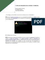 Instalación y Copia de Seguridad Del Sistema y Formateo