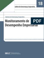 Monitoramento de Desempenho de Governança