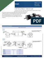 m500 Brushed Dc Servo Motors Datasheet