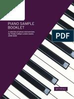 Trinity Piano Sample Booklet 2018-2020