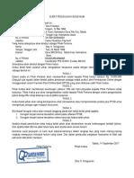 Contoh Surat Perjanjian Kerjasama Bagi Hasil