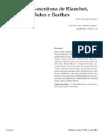 Davi Pimentel - A Crítica-escritura de Banchot, Butor e Barthes