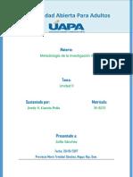 Metodología II. Unidad II.docx
