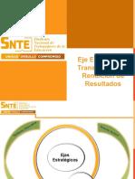 5. Eje Estratégico Transparencia y Rendición de Resultados