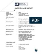 Water Injection Case History
