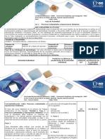 Guía de Actividades y Rúbrica de Evaluación Fase 1- Procesos Industriales y Operaciones Unitarias