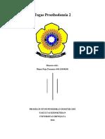 Tugas Prosthodonsia 2