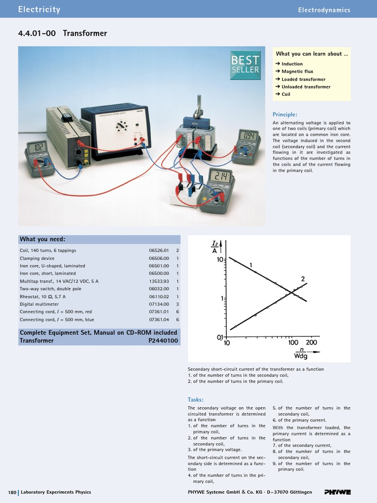 Transformer Electromagnetic Induction 2 Way Switch Double Pole
