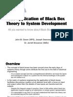 SoS 6 the Application of Black Box