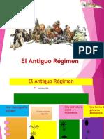 Antiguo Regimen Actividad