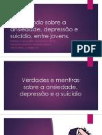 Dialogando Sobre Ansiedade, Depressão e Suicídio