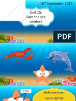PresentationSave the sea creatrue ppt