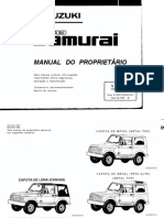 Manual Suzuki Samurai 97