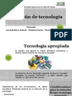 Selección de Tecnología