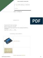 Arduino y los relojes RTC | Tutoriales Arduino