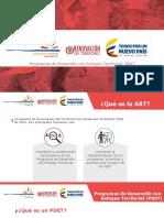 PONENCIA | Ponencia de Agencia de Restitución de Tierras sobre Reforma Rural Integral