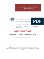 090515- AWS CWI (at CTWEL) -Training Course - Proposed Quotation for Customers - English