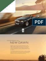 Rolls Royce Dawn Model Overview RoW