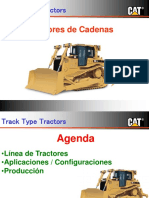 Tractor a Cadenas Cust Ferreyros