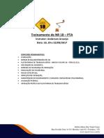 Conteúdo Programático NR18 PTA