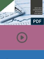 Matematika Ekonomi Dan Matematika Murni