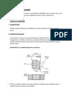 Informe Dibujo Mecanico Elementos de Union